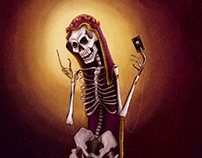 Death card - T A R O T - Character Design Challenge
