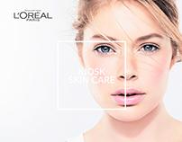 L'Oréal - Kiosk Skin Care - UX/UI