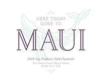 Maui incentive trip branding