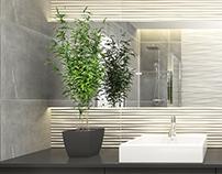 #FAPceramiche #bathroom #lumina