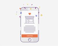 Treasure: Mobile App Onboarding Screens
