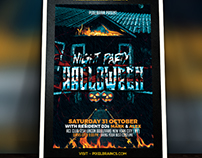 Halloween Flyer Template Download Vol - 5