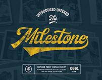 Milestone Vintage script