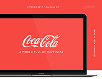 Coca-Cola - Website Concept