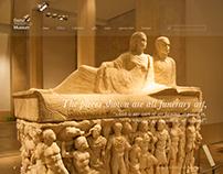 Beirut National Museum website redesign