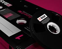 BASF Audio Cassette