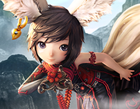2014' Blade and soul Japan official site