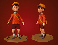3D characters Modeling