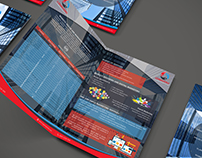 Consulting A4 brochure Design