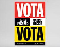 VOTA  /  Ayuntamiento de Madrid