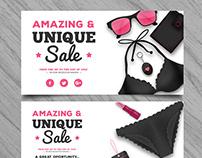Summer Sale Banners II | Designed for Freepik