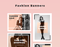 Fashion Banners Collection