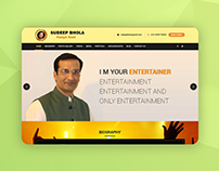 Website for Poet Sudeep Bhola