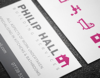 Stationery - Philip Hall Building Services