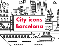 CITY ICONS BARCELONA