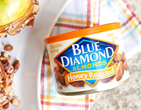 SOCIAL MEDIA: Blue Diamond - Honey Products Launch