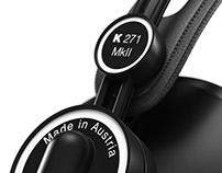 AKG K271 Studio Headphones