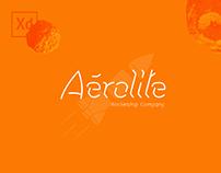 Aérolite - logo & interfaces