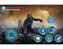 Action game UI