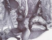 Illustration based on book Confabulario