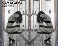 sayagaya  fall'15