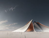 Burning Man Structure