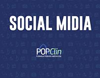 Social Midia - PopClin