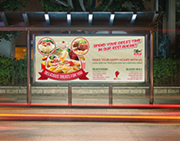 Restaurant Billboard Template Vol.5