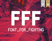FFF - Font For Fighting