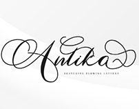 FREE | Antika Elegant Script