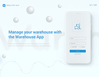Warehouse App | UX UI