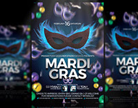 Mardi Gras - Flyer Design!
