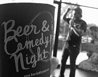 Beer & Comedy Night Logo