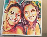 Portrait for a couple