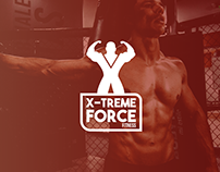 X-Treme Force Fitness Logo