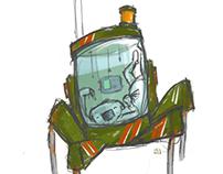Robot. Sloth. Thing...