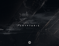 Cryptaris - Interstitial Motion Graphics