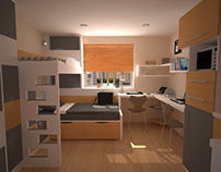 Conceptual Design Dorm Room