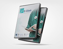 E-Clinic DVD Cover Design