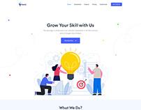 Sassly Digital Agency Landing Page