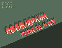 Cocosignum typeface family with two free weights