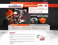 Spareparts and Motorbike Website Design