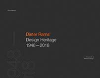Dieter Rams' Design Heritage