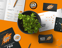 Gas Time Corporate Identity and Branding
