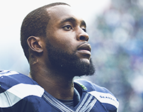 Seattle Seahawks Photo Retouching & Treatment
