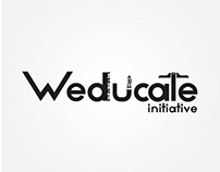 Logo design for an NGO - Weducate initiative.