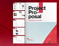 Red Project Proposal Layout