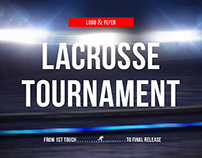 Logo & Flyer for Lacrosse Tournament