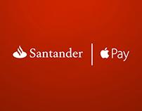 Santander Apple Pay by Daniel Tornero for Ogilvy
