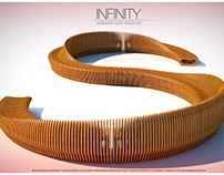 INFINITY - OUTDOOR BENCH